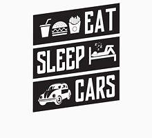 eat sleep cars Unisex T-Shirt