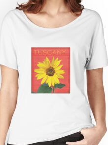 Tuscany. Women's Relaxed Fit T-Shirt