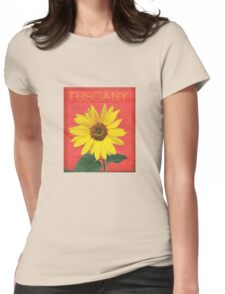 Tuscany. Womens Fitted T-Shirt