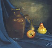 Pitcher and Fruits by debbiemc