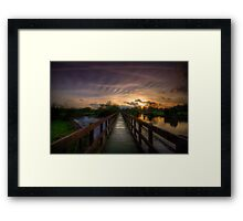 Going Steady Framed Print