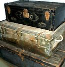 """""""SUITCASES and Old Trunks"""" by waddleudo"""