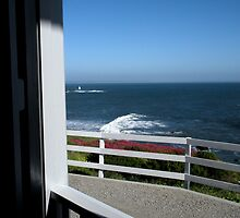 """View From the Front Porch at Old Lighthouse"" by waddleudo"