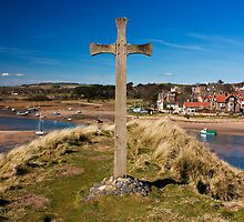 St Cuthbert's Cross by nigelphoto