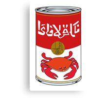 Delicious Crabjuice Canvas Print