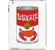 Delicious Crabjuice iPad Case/Skin