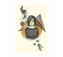 Catch Hold Of The Madness Art Print