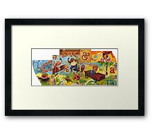 Risk & Reward Framed Print
