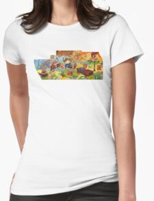 Risk & Reward Womens Fitted T-Shirt