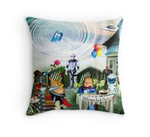 Imminent Arrival Throw Pillow
