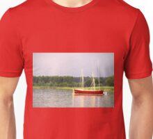 red yacht Unisex T-Shirt