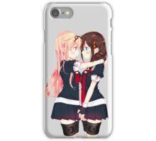 Yuudachi & Shigure lovely  iPhone Case/Skin