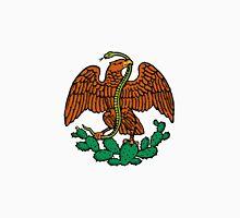 color mexican eagle Unisex T-Shirt