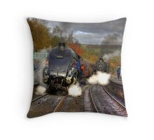 Grosmont - Revisited Throw Pillow