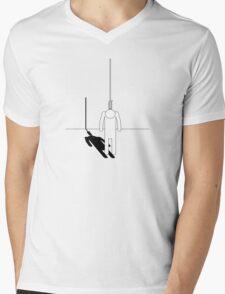Hung Mens V-Neck T-Shirt