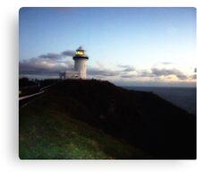Lighthouse byron Canvas Print