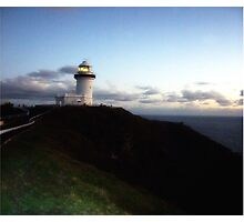 Lighthouse byron Photographic Print