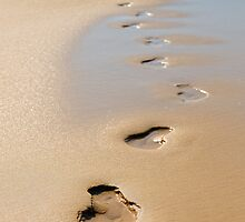 Footsteps by Margaret Hamwood