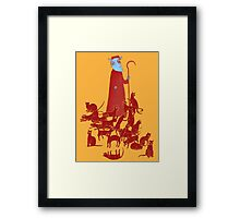 Herding Cats Framed Print