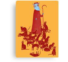 Herding Cats Canvas Print