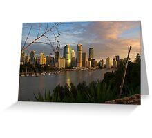 Kangaroo Point - Brisbane Greeting Card