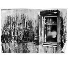 Graffiti View Poster