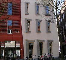 Creative architecture and pink saddles by patjila