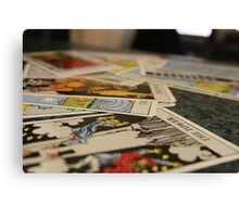 Tarot, Pick your Choice Canvas Print