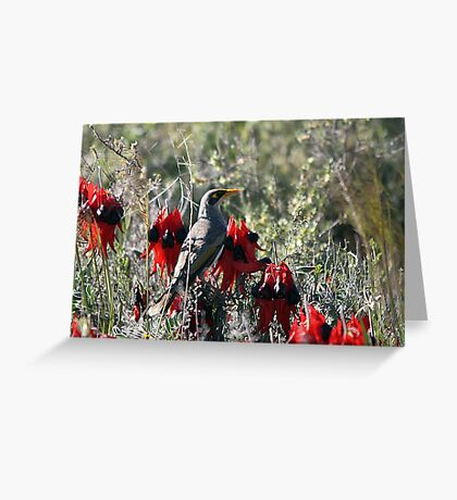 In the Desert Bloom Greeting Card