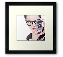 Makin Movies Framed Print