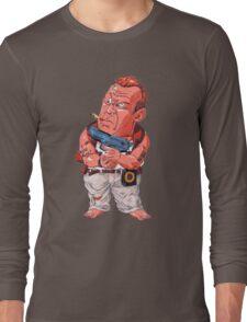 John McClane (Bruce Willis) - Akira Toriyama style Long Sleeve T-Shirt