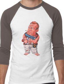 John McClane (Bruce Willis) - Akira Toriyama style Men's Baseball ¾ T-Shirt