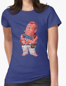 John McClane (Bruce Willis) - Akira Toriyama style Womens Fitted T-Shirt