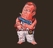 John McClane (Bruce Willis) - Akira Toriyama style Unisex T-Shirt