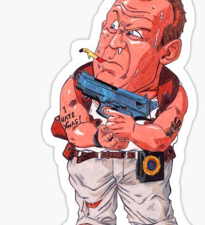 John McClane (Bruce Willis) - Akira Toriyama style Sticker