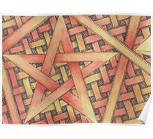 wicca Pentagram  Poster