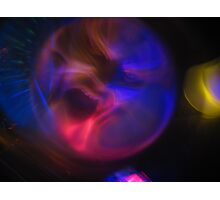 Man In The Bubble Photographic Print