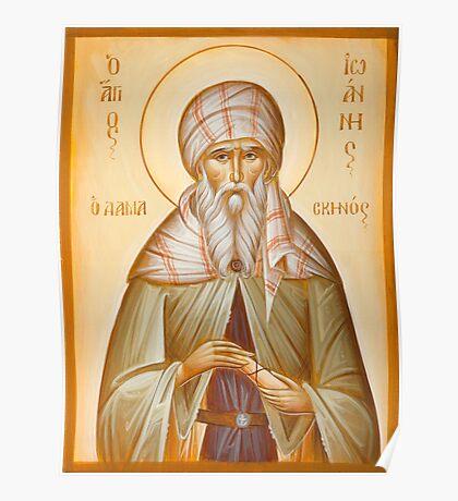 St John of Damascus Poster
