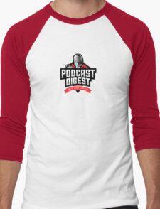 The Podcast Digest Store Men's Baseball ¾ T-Shirt