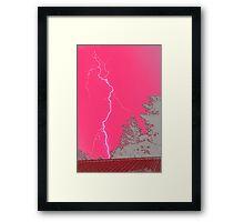 Destructive Pink #4 – NSW Framed Print