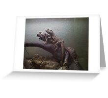 Reptile challenge Greeting Card