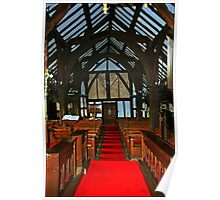 Church of St. James and St. Paul. Interior. Marton Cheshire.UK. Poster