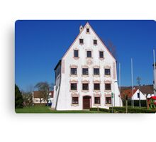 Typical Building Canvas Print