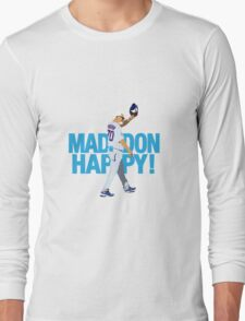 MaddonHappy! Wavetype Long Sleeve T-Shirt