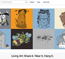5 April 2011 by The RedBubble Homepage