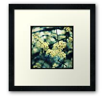 Lost in Flowers Framed Print