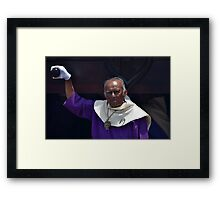 Head of the Float Framed Print