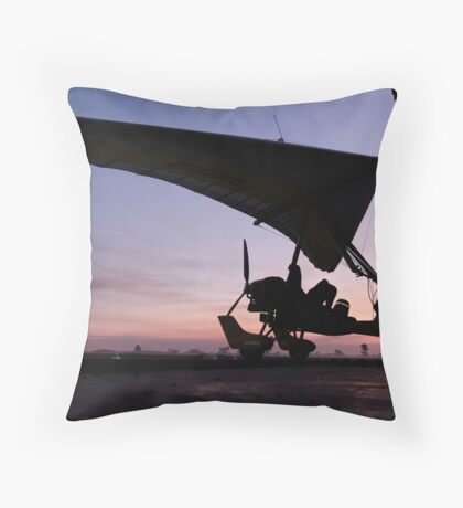 The end of the Day Throw Pillow