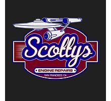 Scotty's Engine Repairs Photographic Print