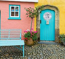 The colours of Portmeirion by Beverley Goodwin